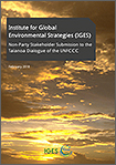 Institute for Global Environmental Strategies (IGES) Submission to the Talanoa Dialogue of the UNFCCC