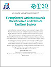 Strengthened Actions towards Decarbonised and Climate Resilient Society