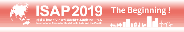 ISAP2019 - International Forum for Sustainable Asia and the Pacific Registration open!