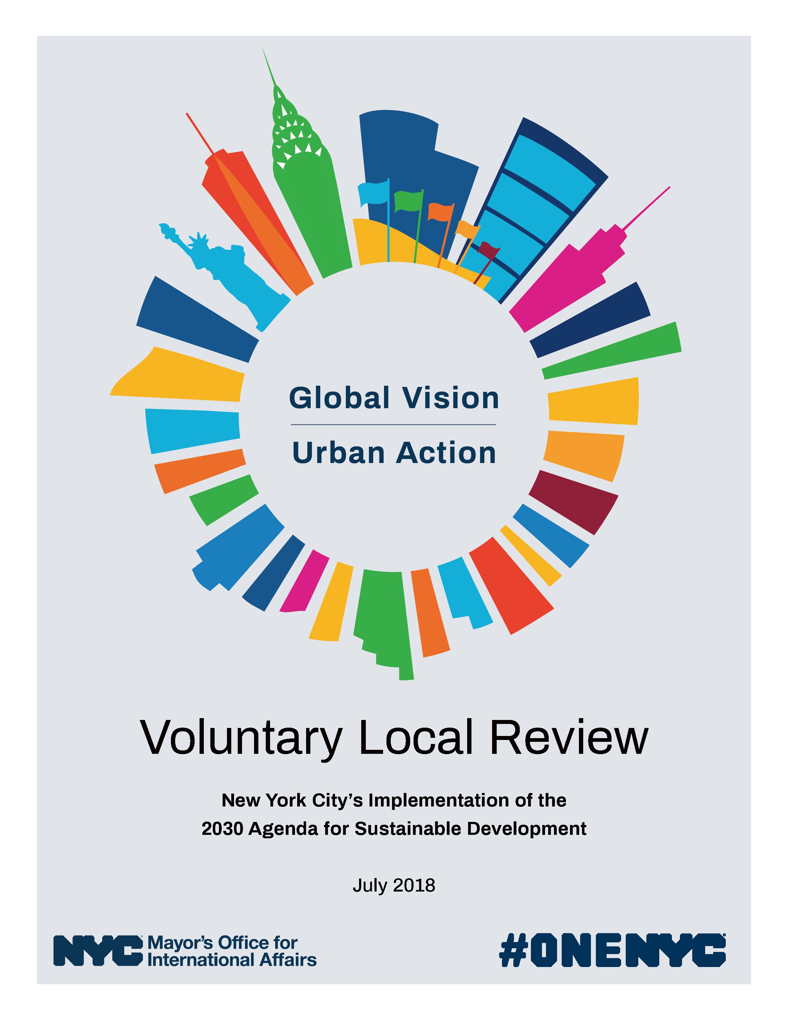 Voluntary Local Review New York City S Implementation Of The 2030 Agenda For Sustainable Development