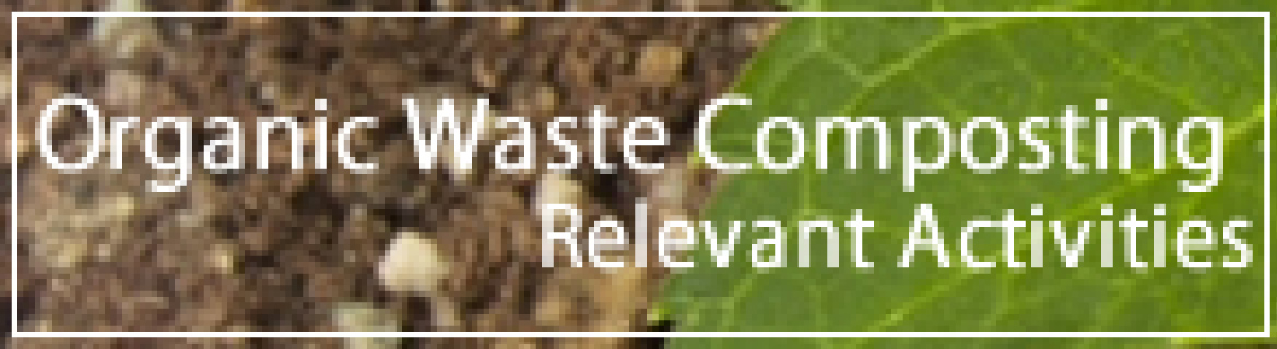 Organic Waste Composting Relevant Activities