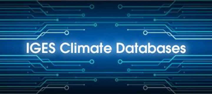 IGES climate databases