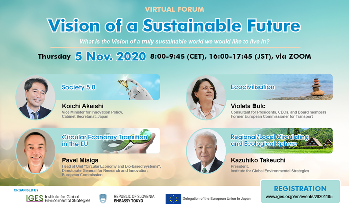 "Virtual Forum  ""Vision of a Sustainable Future"""