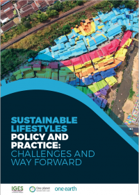 Sustainable Lifestyles Policy and Practice: Challenges and Way Forward Cover Image