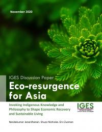 Eco-resurgence for Asia