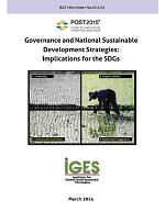 Governance and National Sustainable Development Strategies: Implications for the SDGs