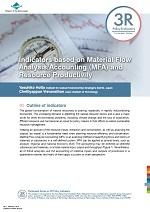 Indicators based on Material Flow Analysis/Accounting (MFA) and Resource Productivity