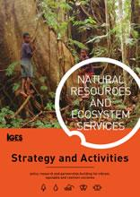 IGES Natural Resources and Ecosystem Services: Strategy and Activities