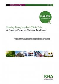 Starting Strong on the SDGs in Asia: A Framing Paper on National Readiness