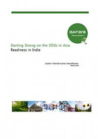 Starting Strong on the SDGs in Asia: Readiness in India
