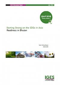 Starting Strong on the SDGs in Asia: Readiness in Bhutan