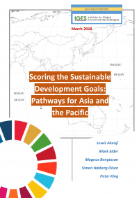 Scoring the Sustainable Development Goals: Pathways for Asia and the Pacific