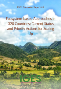 Ecosystems-based approaches in G20 countries