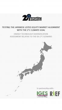 Testing The Japanese Equity Market Alignment With The 2 C Climate Goal Iges