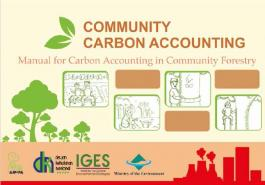 Community Carbon Accounting - Manual for Carbon Accounting in Community Forestry