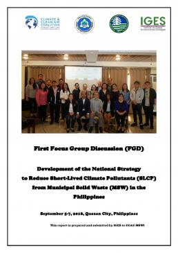 CCAC-IGES FGD on SLCP