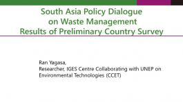 South_Asia_Policy_Cooperation_CCET_Global_Waste_Management_Survery_Results